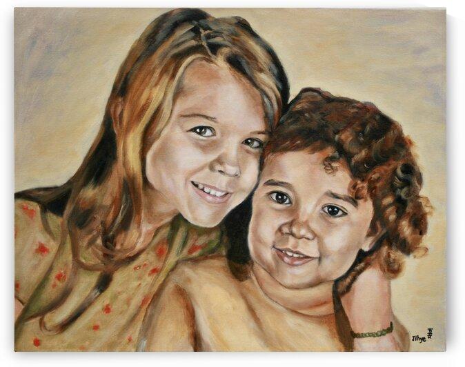 Claire and Alyssa by JIHYE DESJADON