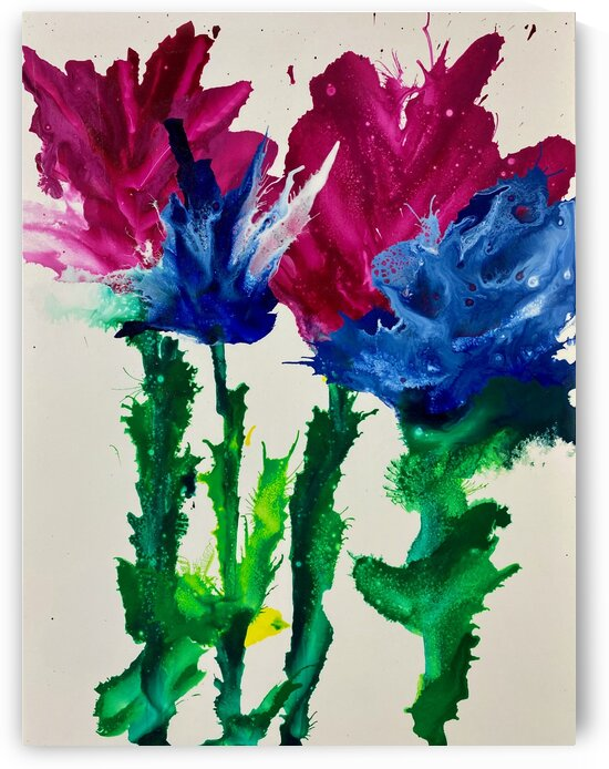 Wild Flowers by Reiter Art Works