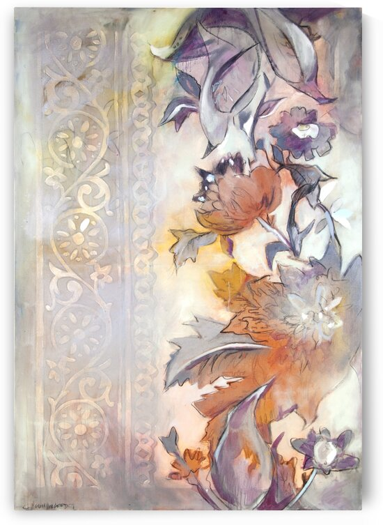 Large Riverton Wallpaper Tracing II by Caroline Youngblood