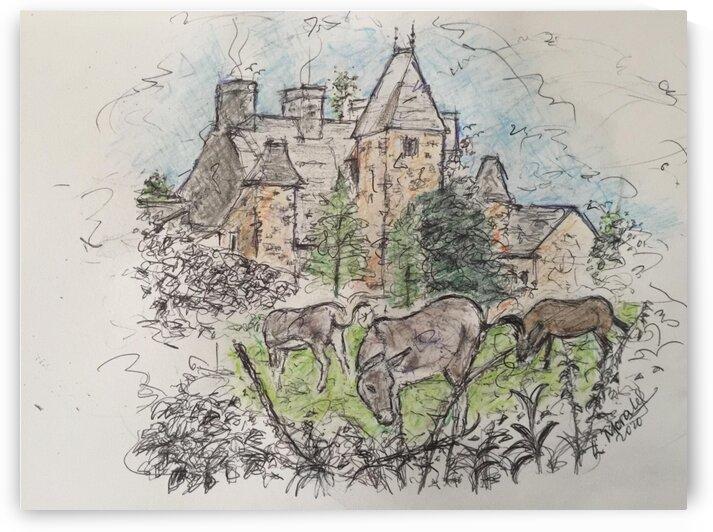 Chateau La Ducrie medieval Norman castle by LeGustavienne