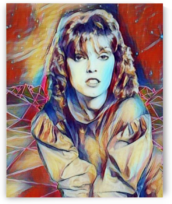 Legendary Pat Benatar  poster painting  by Smithson