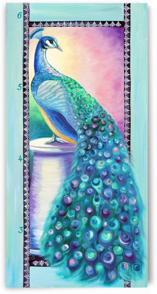 Rosette Peacock Growth Chart by Geneva Price