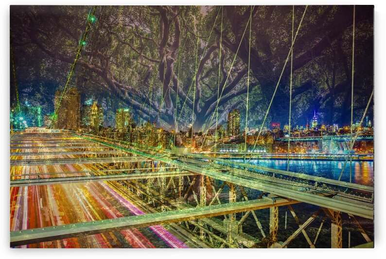 Night Bridge III by mc2photography