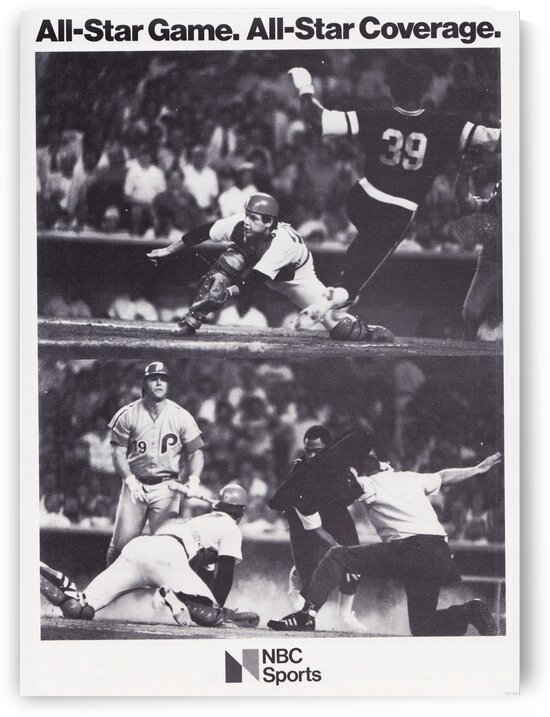 1979 NBC Sports Baseball Ad by Row One Brand