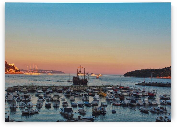 Sunset in Croatia by Patricia Jekki