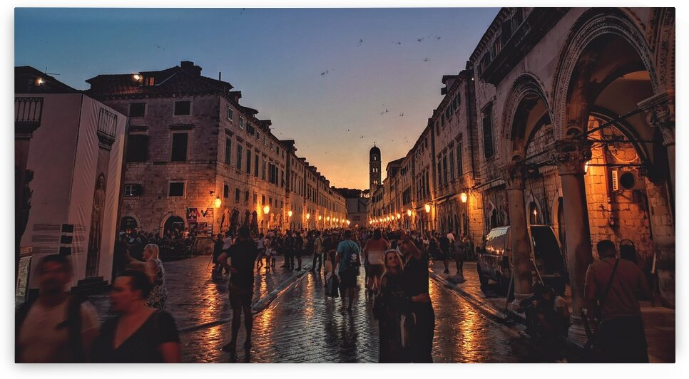 Saturday Night in Dubrovnik by Patricia Jekki