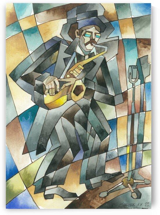 saxophonist-Jazz series by Andrey Saratov