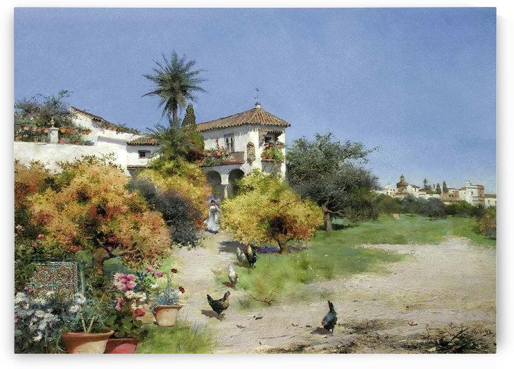 An afternoon stroll by Manuel Garcia y Rodriguez