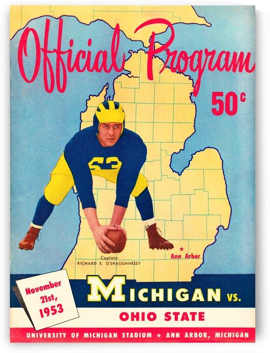1953 Ohio State vs. Michigan by Row One Brand