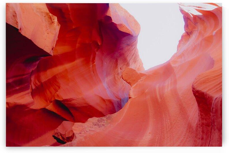 Sandstone texture abstract at Antelope Canyon Arizona USA by TimmyLA