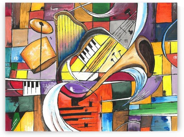 Abstract musical by Abha Lakhotia Bangard