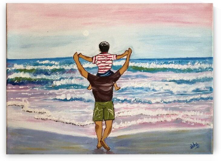 fatherson by Abha Lakhotia Bangard