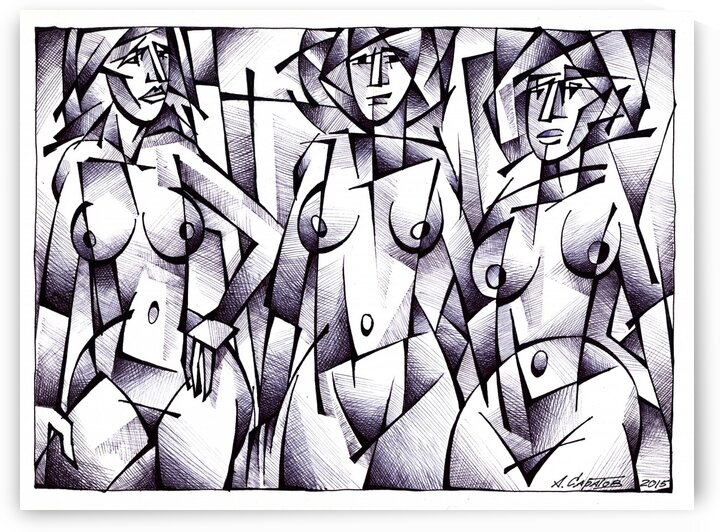 the three graces by Andrey Saratov
