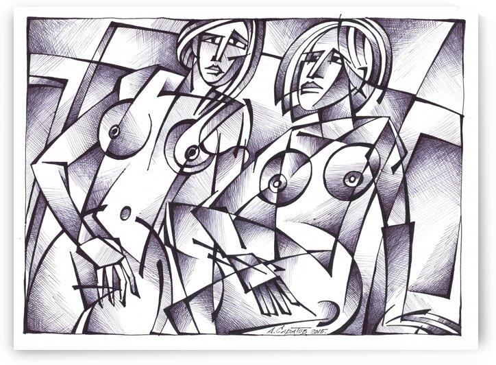 womens of Charlottenburg by Andrey Saratov