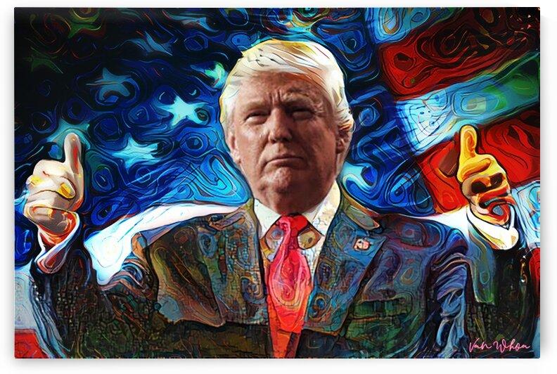 Trump Thumbs by Van Whoa