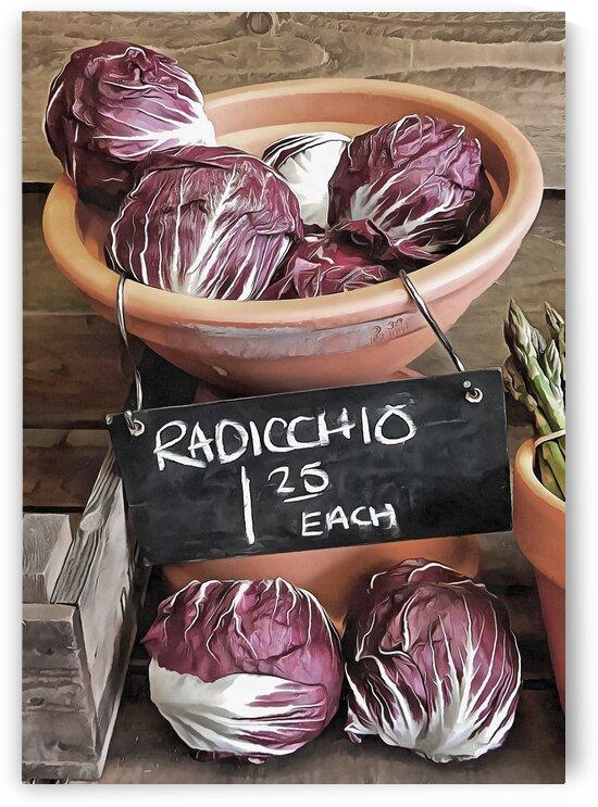 Raddichio Rustic Display by Dorothy Berry-Lound