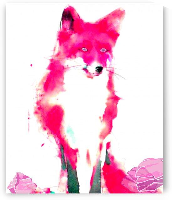 Foxy Lady In The Pink  by LeGustavienne