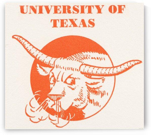 1941 Texas Longhorn Art by Row One Brand