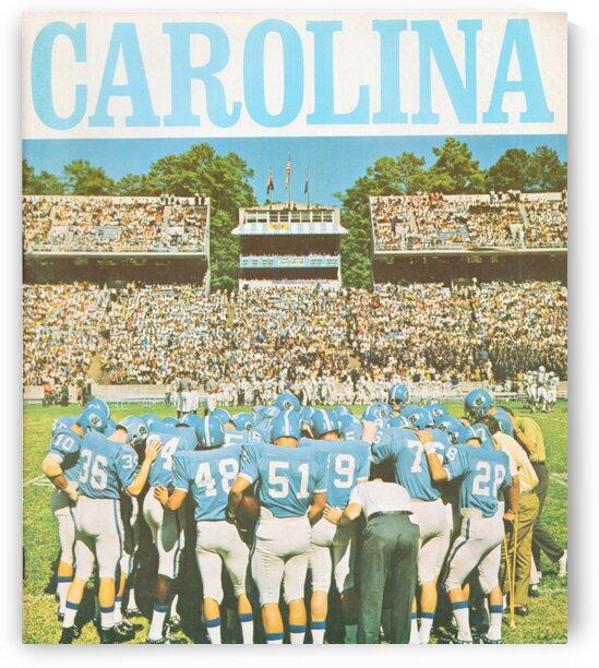 1969 North Carolina Football by Row One Brand