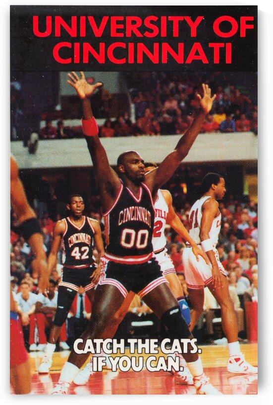 1988 Cincinnati Basketball Print by Row One Brand