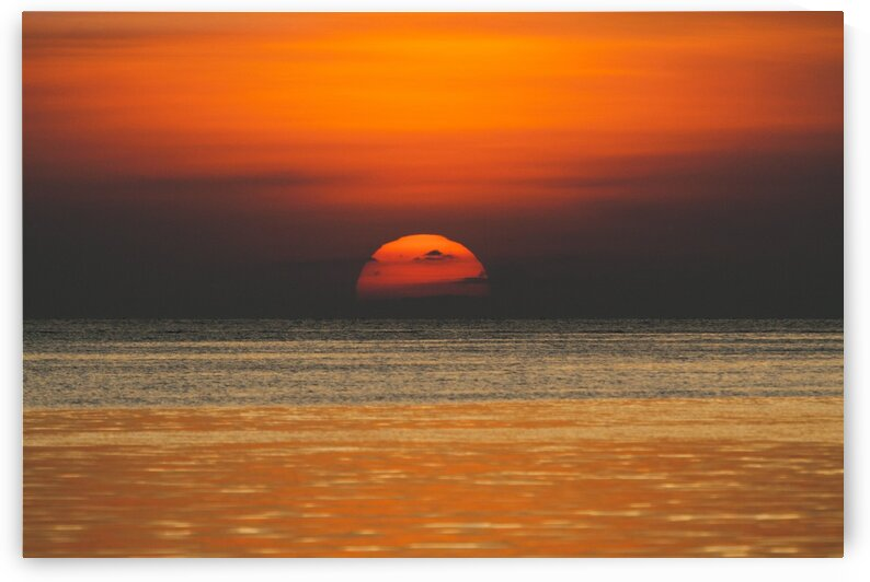 Sunset over the sea. by Mama Gipsy
