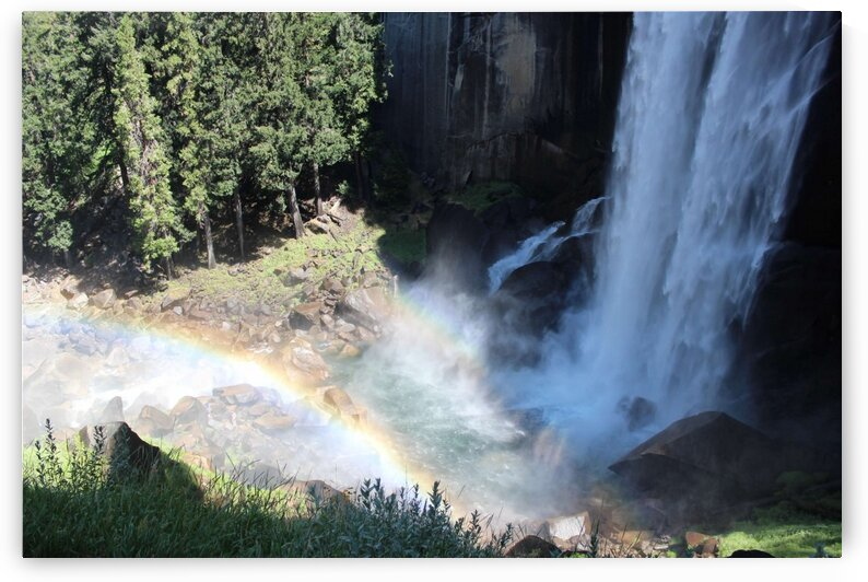 Vernal Falls Yosemite by Jenni OBrien