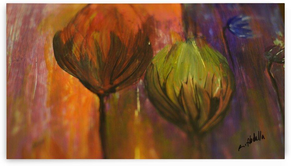 Eden Flowers by Regina Abdalla