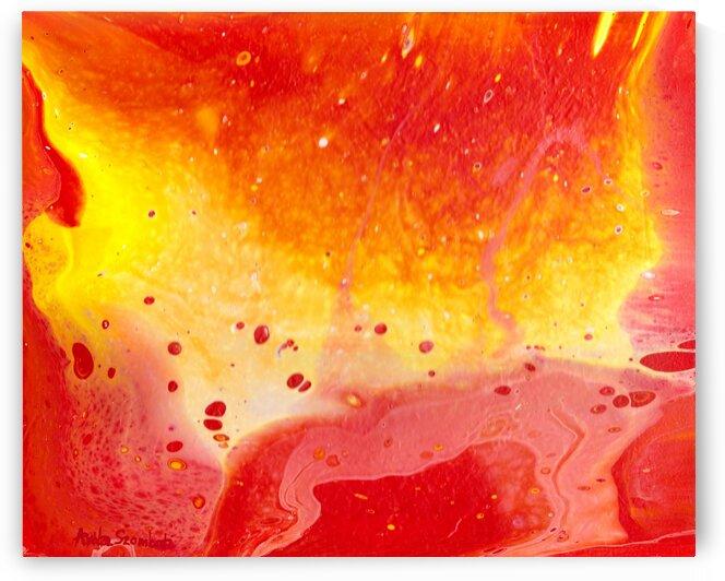 Eruption by Anita Szombati by Anita Szombati