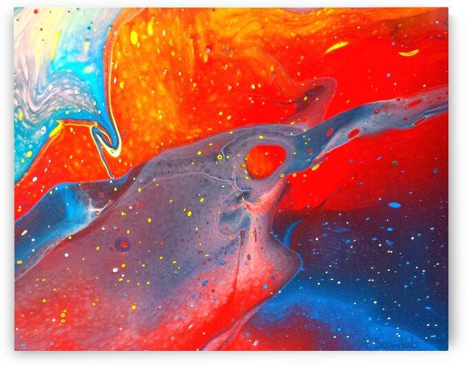 Distant Galaxies by Anita Szombati by Anita Szombati