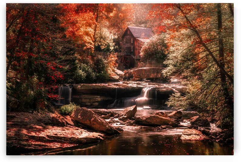 The Old Grist Mill by msnell photo