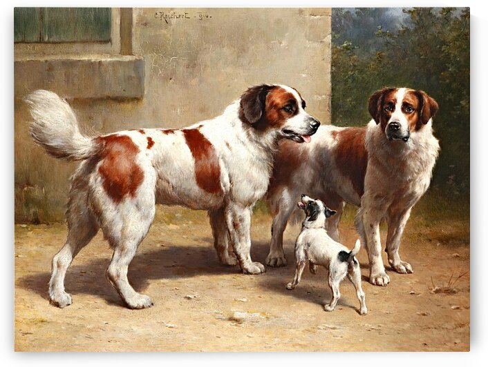Big And Small Dogs_OSG by One Simple Gallery