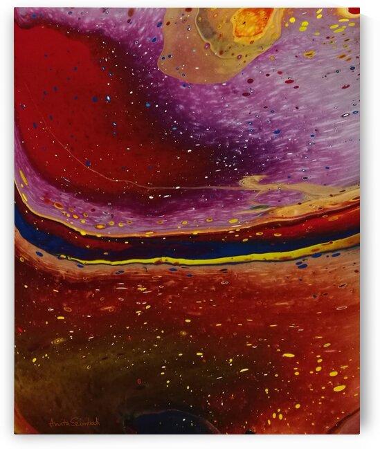 Spinning in Space by Anita Szombati by Anita Szombati