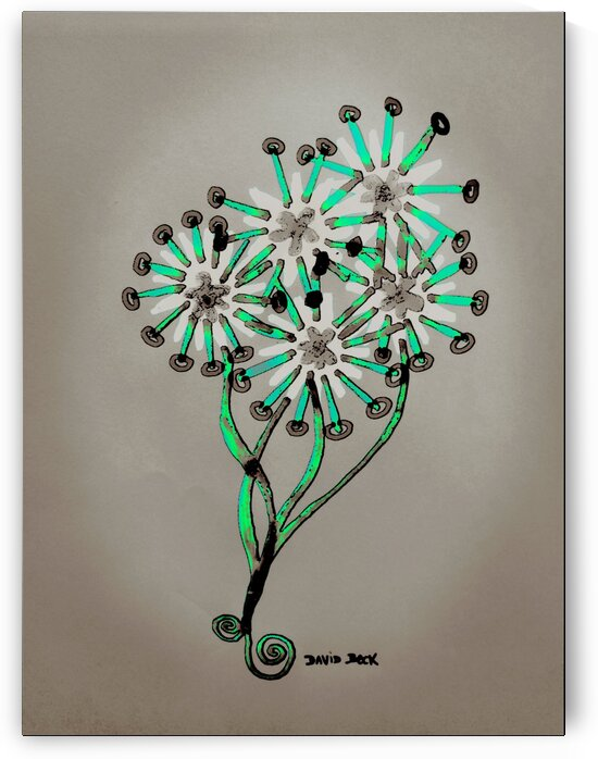 Bouquet of flowers by David Beck