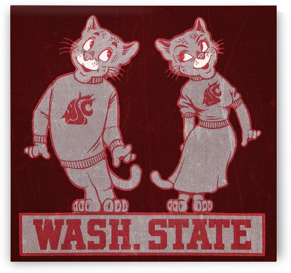 1950s Washington State Cougar Couple by Row One Brand