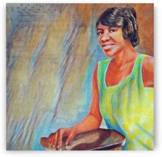 Blues Icon Clara Smith painting art Poster by Smithson