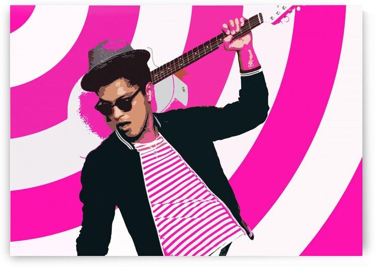 Bruno Mars  by Muja Art
