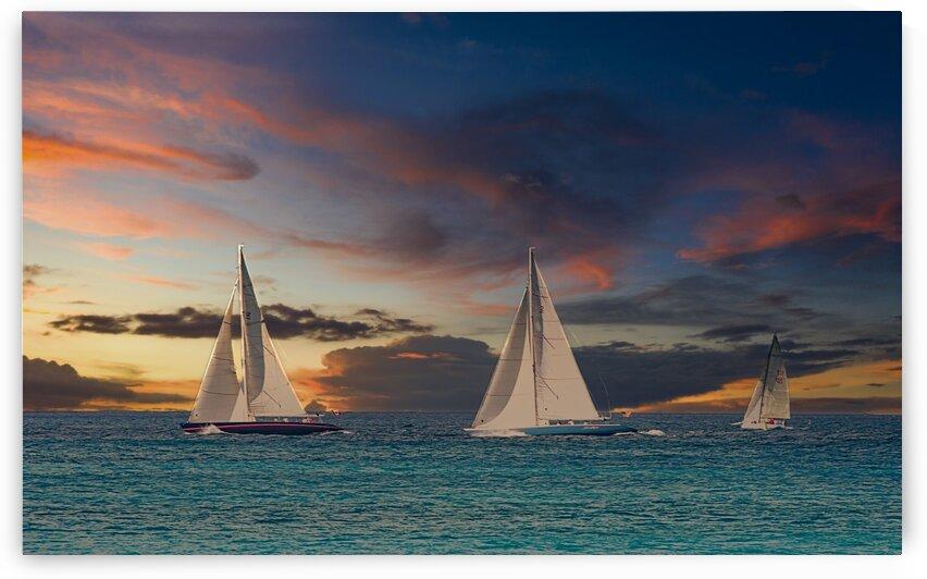 ThreeBoats_Luminar4 edit by Darryl Brooks