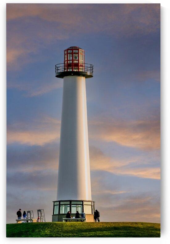 LighthouseatDusk Edit Edit by Darryl Brooks