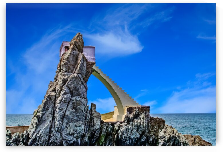 CliffDiversPlatforminMazatlan by Darryl Brooks