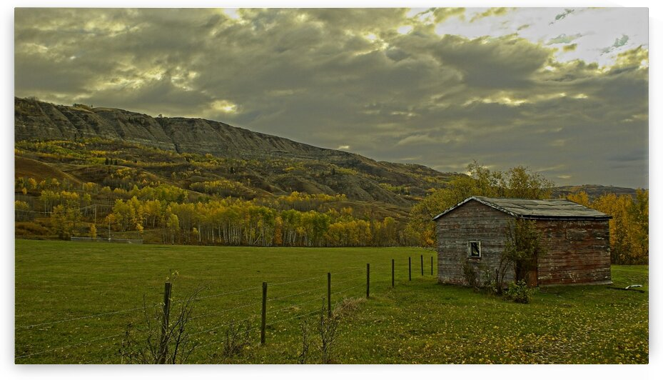 Peace River Valley by Kristian Gunderson