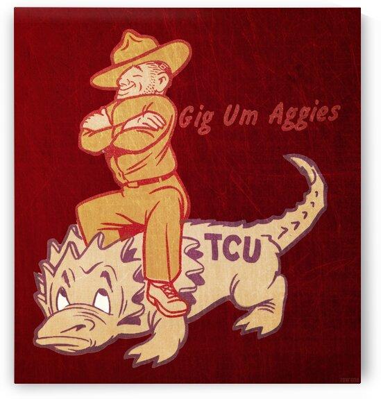 Vintage Texas A&M Ol Sarge TCU by Row One Brand