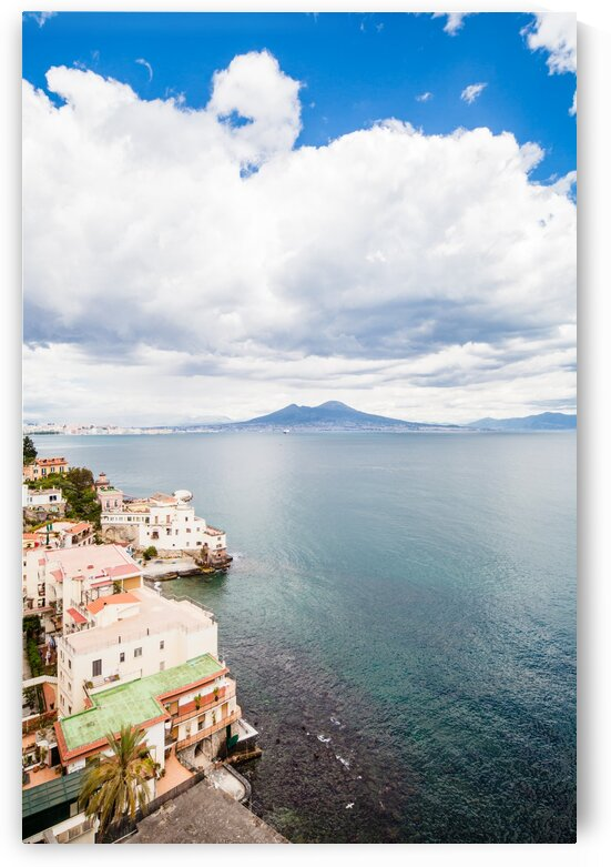 Naples view from Posillipo Hill Italy by AngelaSorrentino