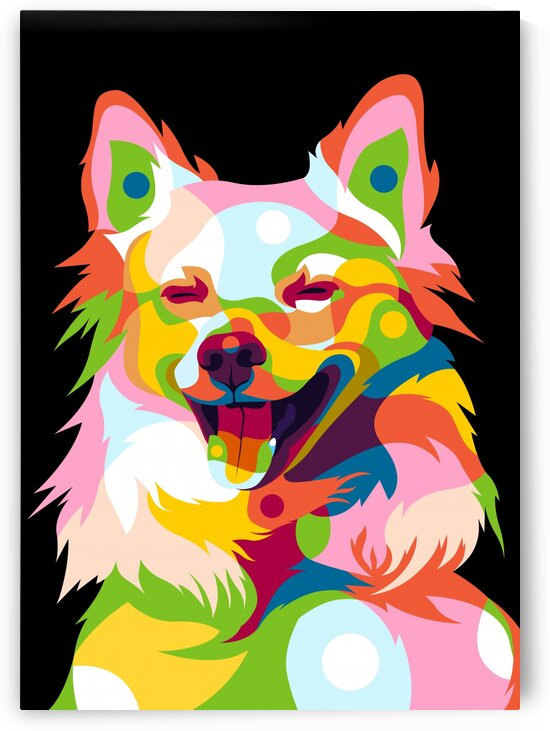 Cute Little Dog Expression by wpaprint