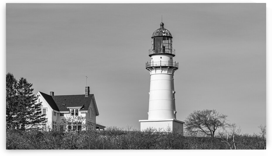 Cape Elizabeth Lighthouse by Dave Therrien
