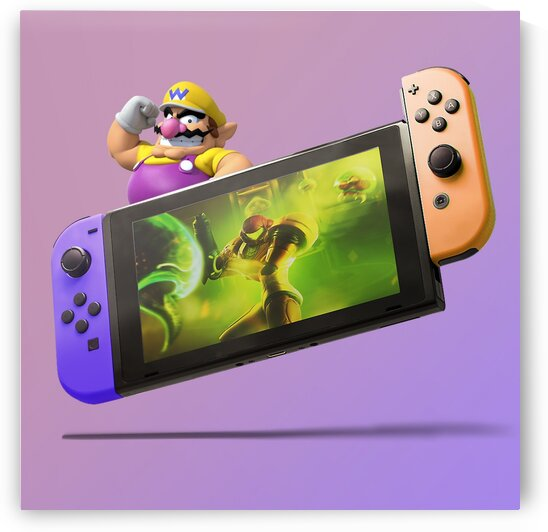 Nintendo Switch Wario by CarlosDoesPhoto