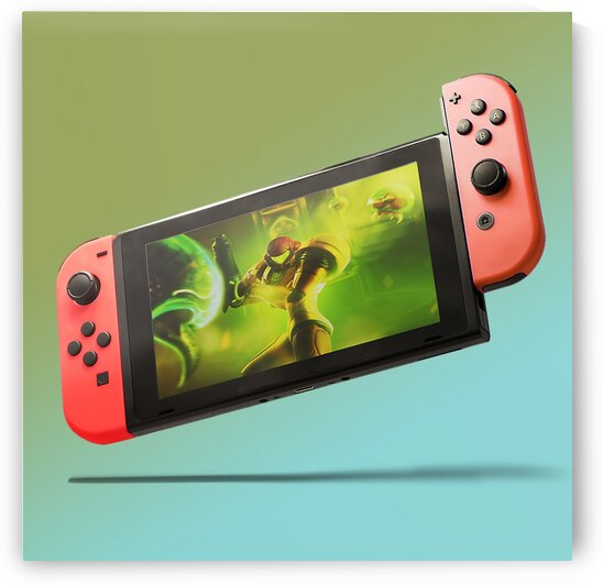 Nintendo Switch Red Red by CarlosDoesPhoto