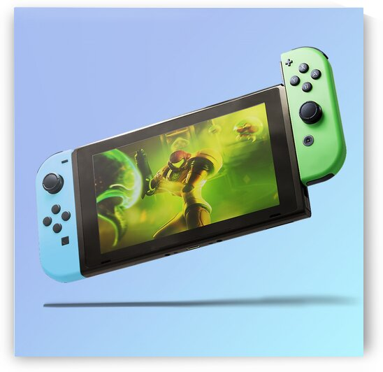 Nintendo Switch Blue Green by CarlosDoesPhoto