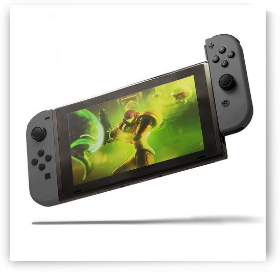 Nintendo Switch grey by CarlosDoesPhoto