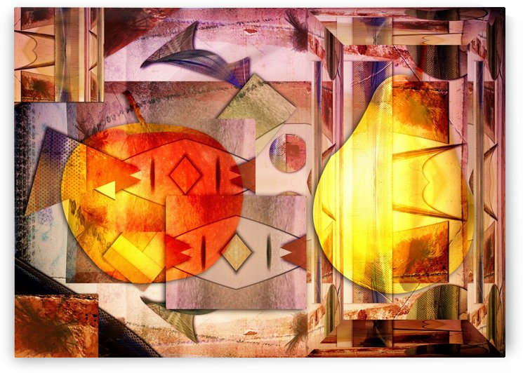 Apple and Pear by Dagmar Marina
