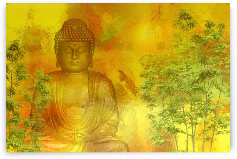 Buddha by Dagmar Marina